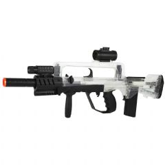 Official Famas Tactical Airsoft Spring Action Rifle Clear